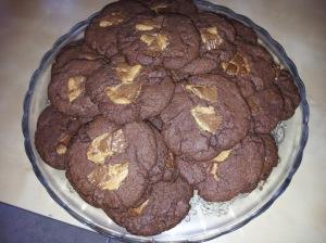 Recette de cookies aux chocolat et pépites Reese's