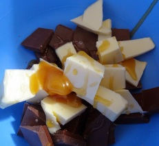 Réalisation de la ganache au chocolat au lait pour éclairs au Nutella
