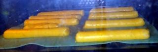 Pâte à choux entrain de cuire pour les éclairs au Nutella