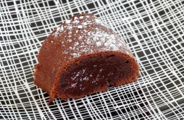 Moelleux au chocolat part