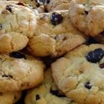Cookies chocolat blanc cramberries