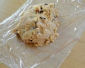 Cookie beurre de cacahuete fabrication boudin 1