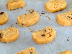 Cookie beurre de cacahuete sur plaque