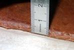 Tourte poire chocolat pate 5mm d'épaisseur