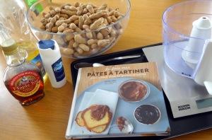 Beurre de cacahuète maison ingrédients