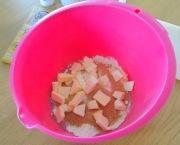 Crumble poire praliné ingrédients pour le crumble
