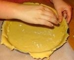 Tarte au citron meringué pate moule