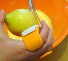 Tarte au citron meringué zeste de citron