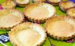 Tartelette au caramel au beurre salé et au pop corn fond de tarte zoom