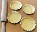 Tartelette au caramel au beurre salé et au pop corn grand moule