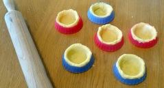 Tartelette au caramel au beurre salé et au pop corn petit moule