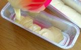 Marbré au chocolat yaourt et citron versage pate