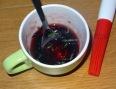 Tarte aux fraises et basilic gelée groseille basilic