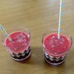 Gaspacho fraises et pastèque
