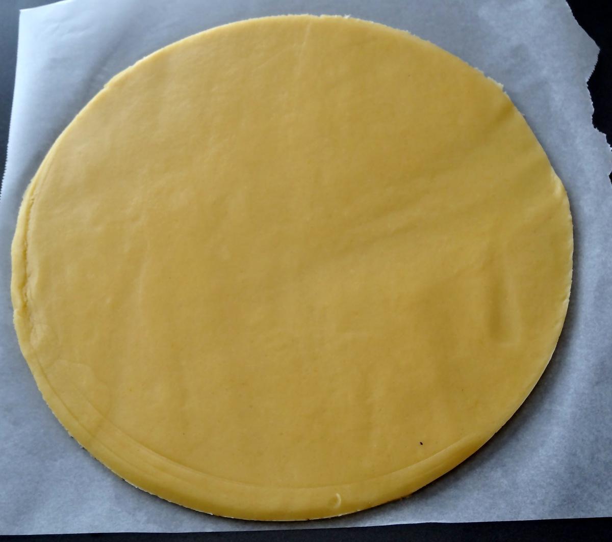 Pate à tarte pour la tarte banane chocolat au lait