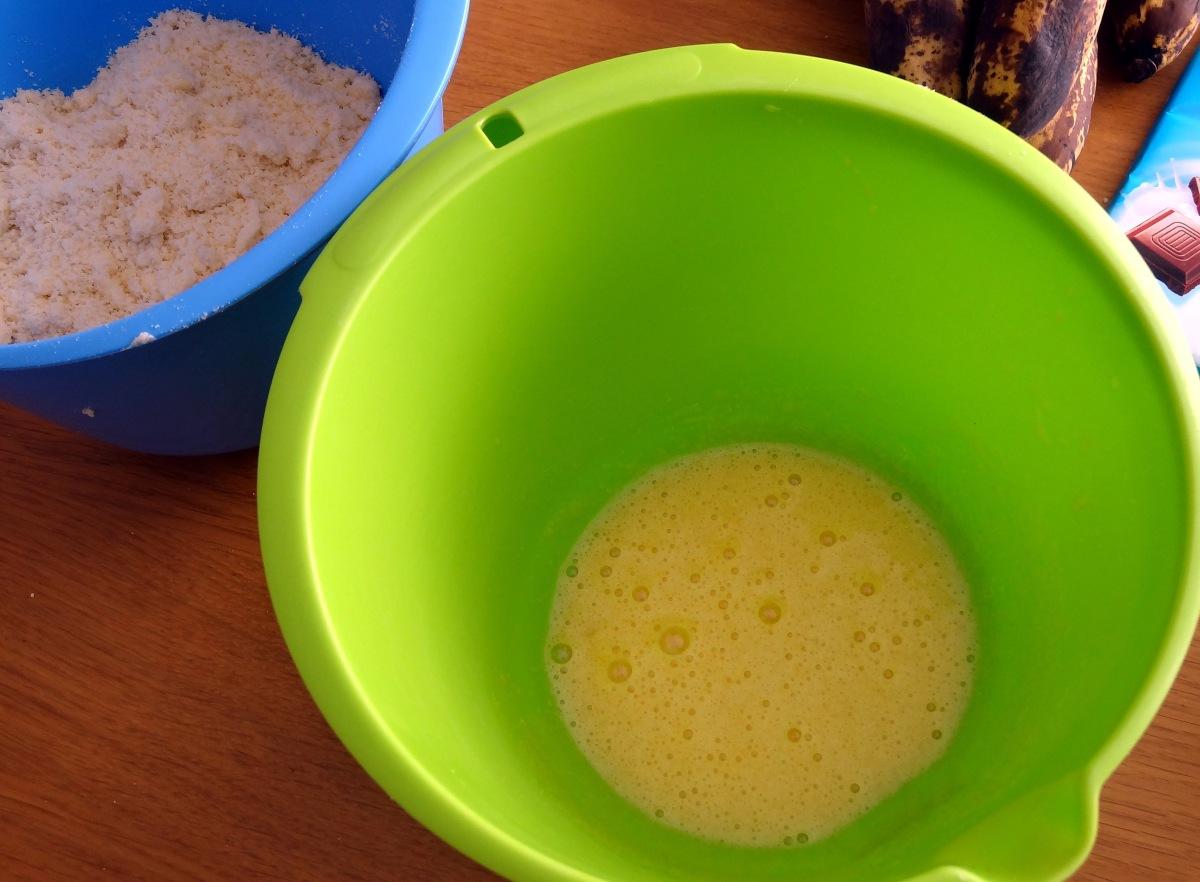 Mélanges pour pate sablé pour la tarte banane et chocolat au lait